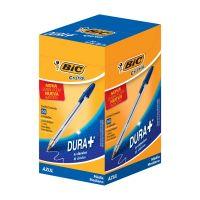 Caneta Esferográfica BIC Cristal Dura+ azul com 50 un. - Cod. 70330129627