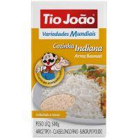 Arroz Tio João Basmati Tipo 1 500g - Cozinha Indiana - Cod. 7893500044352