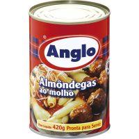 Almôndegas Ao Molho Anglo Lata 420g | Caixa com 24 unidades - Cod. 7896037514848C24