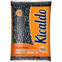 Feijão Preto Kicaldo 1kg | Caixa com 10 unidades - Cod. 7896116900050C10