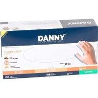 Luva De Procedimento Danny Vinil Sem Pó 'M' | Caixa com 100 unidades - Cod. 7896353821378C100