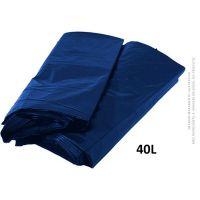 Saco De Lixo Azul MuLlixo 40L  | Caixa com 15 unidades - Cod. 789595596964C15