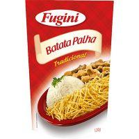 Batata Palha Fugini Tradicional 120g   Caixa com 20 unidades - Cod. 7897517203719C20