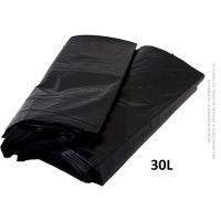 Saco De Lixo Azul Lixoplas Médio 30L  | Caixa com 25 unidades - Cod. 7896085600074C25