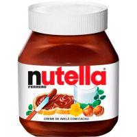 Creme De Avelã Nutella 140g | Caixa com 10 unidades - Cod. 7898024395232C10