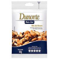 Nozes Dunorte Sem Casca 50g | Caixa com 20 unidades - Cod. 7896029601037C20