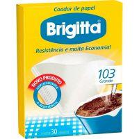 Filtro De Café Papel Brigitta 103 | Caixa com 6 unidades - Cod. 7891021002134C6