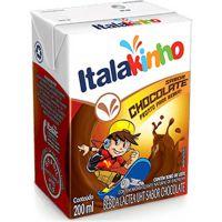 Achocolatado Líquido Italac 200ml | Caixa com 24un - Cod. 7898080640239C24