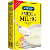 Amido de Milho Nutrivita 500g | Caixa com 12un - Cod. 7896184800054C12
