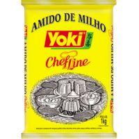 Amido de Milho Yoki 1kg - Cod. 7891095005512