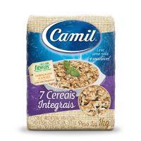 Arroz 7 Cereais Integrais Camil a Vácuo 1 Kg - Cod. 7896006779841
