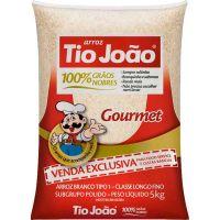 Arroz Branco Gourmet Tipo 1 Tio João 5Kg - Cod. 7893500036012