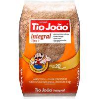 Arroz Integral Tipo 1 Tio João 1Kg - Cod. 7893500018483