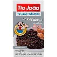 Arroz Preto Tio João 500g - Cod. 7893500044475