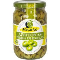 Azeitona Verde Fatiada Maçarico 165g | Caixa com 12un - Cod. 5601378660312C12