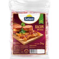 Bacon Fatiado Satiare 2kg | Caixa com 4un - Cod. 7898942213069C4