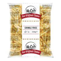 Batata Congelada Crinkle Frise McCain 2,5kg   Caixa com 5 Unidades - Cod. 8710438028133