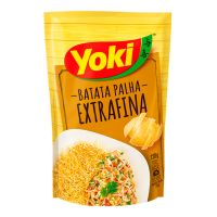 Batata Palha Yoki Extra Fina 120g   Caixa com 20 Unidades - Cod. 7891095011599C20