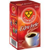 Café 3 Corações Extra Forte Vácuo 250g - Cod. 7896005801819