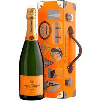 Champagne Veuve Clicquot Brut Trunk 750ml - Cod. 3049614163753