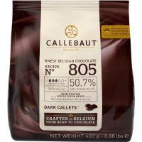 Chocolate Amargo em Gotas 50,7% Callebaut 400g - Cod. 5410522542608