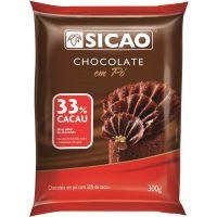 Chocolate em Pó 33% Sicao 300g - Cod. 20842062486