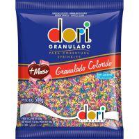 Chocolate Granulado Dori para Cobertura Colorido  500g - Cod. 7896058592146