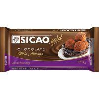 Cobertura de Chocolate em Barra Sicao Gold Meio Amargo 1,01Kg - Cod. 20842060123