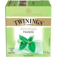 Chá Hortelã 10 Saquinhos Twinings 17,5g - Cod. 70177197162C10