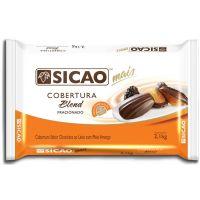 Cobertura Fracionada Sicao Blend Chocolate Ao Leite e Meio Amargo 2,1kg - Cod. 208420606110