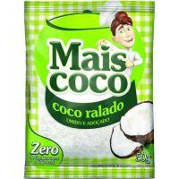 Coco Ralado úmido e Adoçado Mais Coco 50g | Caixa com 50 Unidades - Cod. 7896004401058C50