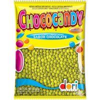 Confeito Dori Chococandy Mini Amarelo 350g - Cod. 7896058592009