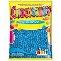 Confeito Dori Chococandy Mini Azul 350g - Cod. 7896058592016