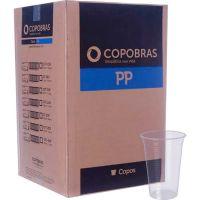 Copo Descartável PP Transparente PPT-550 Copobras 500ml com 50 Unidades - Cod. 7896030815515
