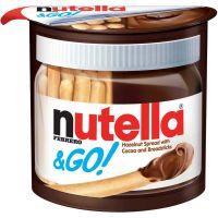 Creme de Avelã Nutella GO! 48g com 24 Unidades - Cod. 17898024397059