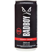 Energético Bad Boy Power Drink 269ml | Caixa com 6un - Cod. 7898275251028