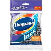Esponja de Aço Inox Limppano - Cod. 17896021623676