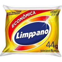 Esponja de Lã de Aço Limppano 8 Unidades 44g - Cod. 27896021624434C14