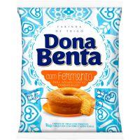 Farinha de Trigo com Fermento Dona Benta 1kg - Cod. 7896005232705