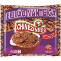 Feijão Manteiga Chinezinho 500g - Cod. 7896046600426C20