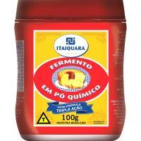 Fermento em Pó Químico Itaiquara 100g | Caixa com 12 Unidades - Cod. 7896545500050C6