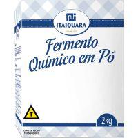 Fermento Químico em Pó Itaiquara 2kg - Cod. 7896545500258