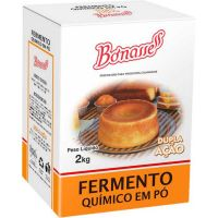 Fermento Químico para Bolo Bonasse 2kg - Cod. 17898926721167