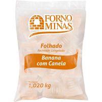 Folhado Banana Forno de Minas 60g com 17 Unidades - Cod. 7896074600641