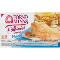 Folhado Frango Forno de Minas 240g - Cod. 7896074600535