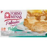 Folhado Palmito Forno de Minas 240g - Cod. 7896074602041
