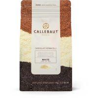 Granulado Chocolate Branco CHK-W Callebaut 1kg - Cod. 5410522201994