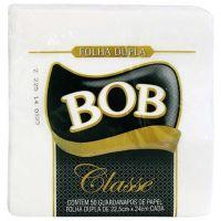Guardanapo Bob Classé Folha Dupla 22,5X24Cm | Pacote com 9x50un - Cod. 7896089409505