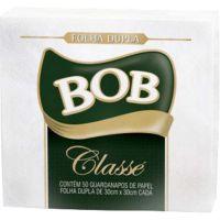 Guardanapo Bob Classé Folha Dupla 30x30Cm | Pacote com 12x50un - Cod. 7896089403039