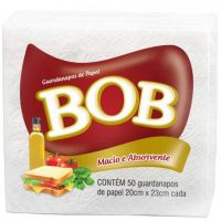Guardanapo Folha Simples Bob 20x23cm - Cod. 7896089403152